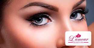 Lash Lifting com coloração de cílios de R$ 160,00 por R$ 89,00 na Lamou´r Beauty Spa.